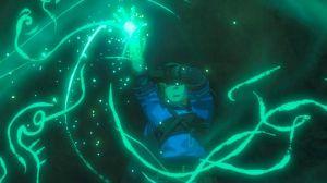 L'interaction entre le sceau et la main de Link