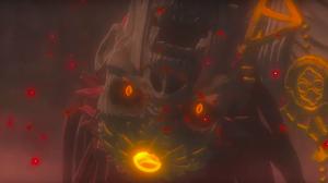 Les yeux de la momie réveillée