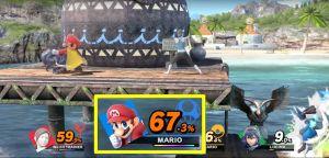 La jauge de Final Smash se remplit au cours du combat et brillera quand elle sera chargée.