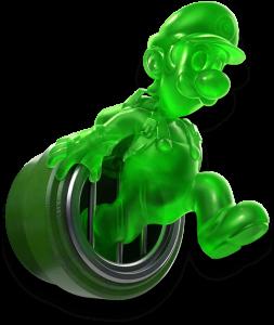 Gluigi: un clone gélatineux de Luigi qui vous sera bien utile.