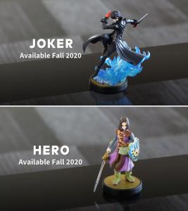 Amiibo du Hero en cours de développement.