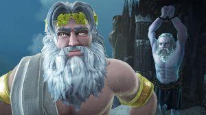 """Une entente... """"cordiale"""" entre Zeus et Prométhée."""